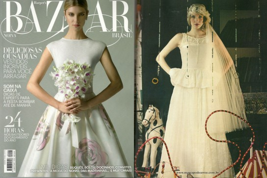 Revista Bazaar Noivas 2013