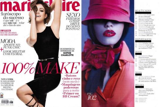 Revista MARIE CLAIRE - julho 2013