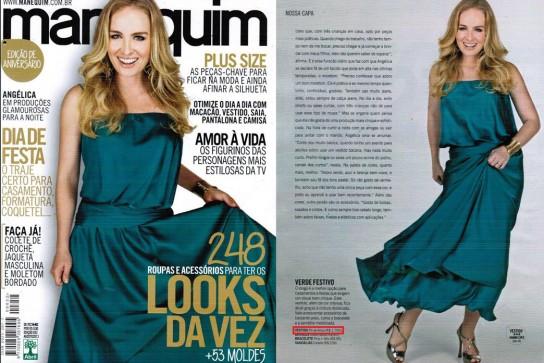Revista Manequim - Agosto 2013