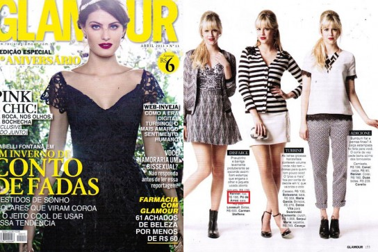 Revista Glamour - Abril 2013