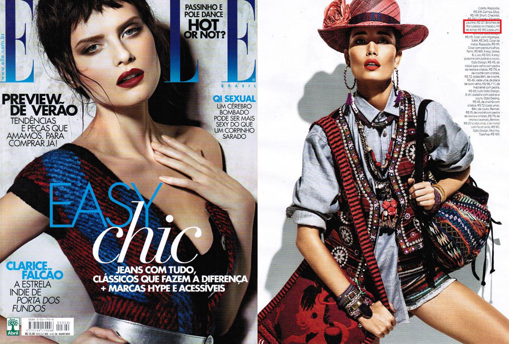 Revista Elle - Julho 2013