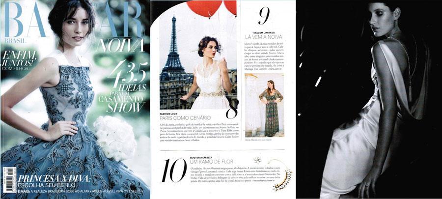 Revista Harper´s  Bazaar Noiva - Novembro 2013