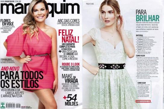 Revista Manequim - Dezembro 2013