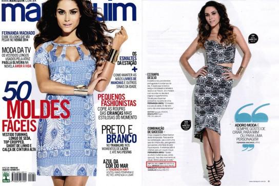 Revista Manequim - Outubro 2013