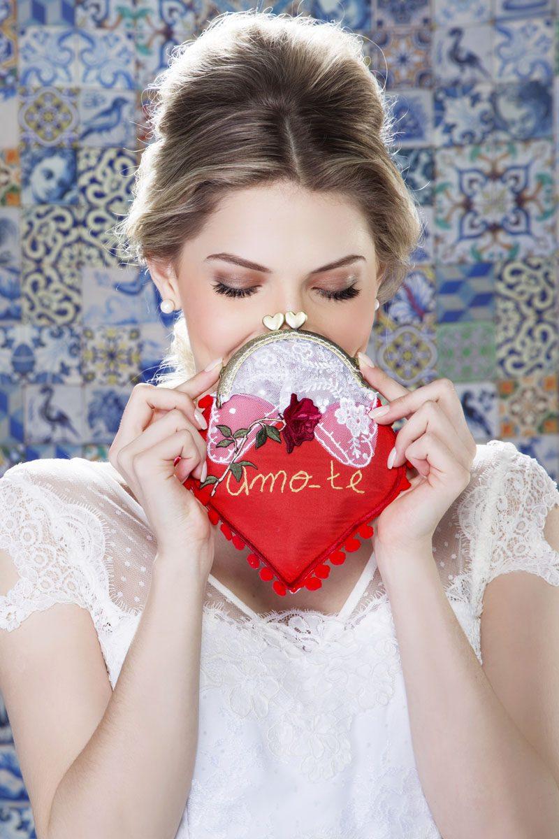 Bolsinha Escritas de Amor