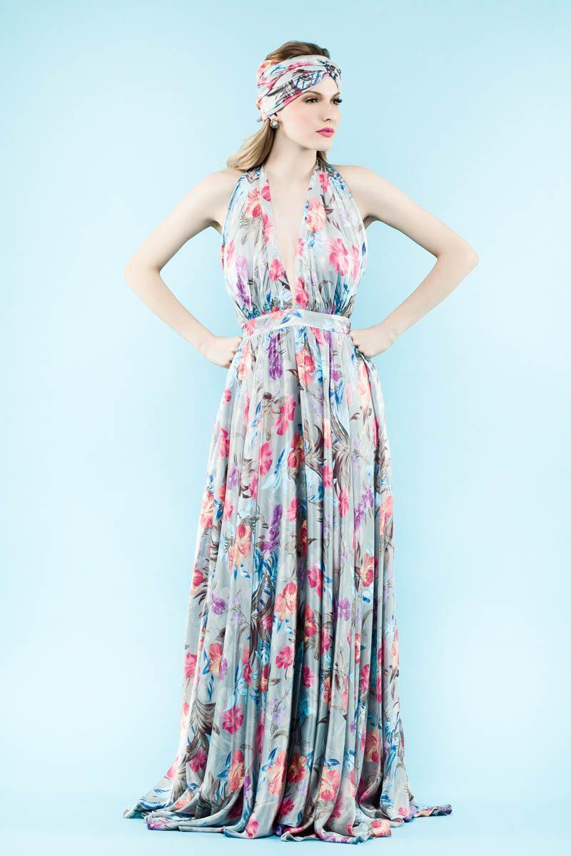 Vestido Jardim de Monet