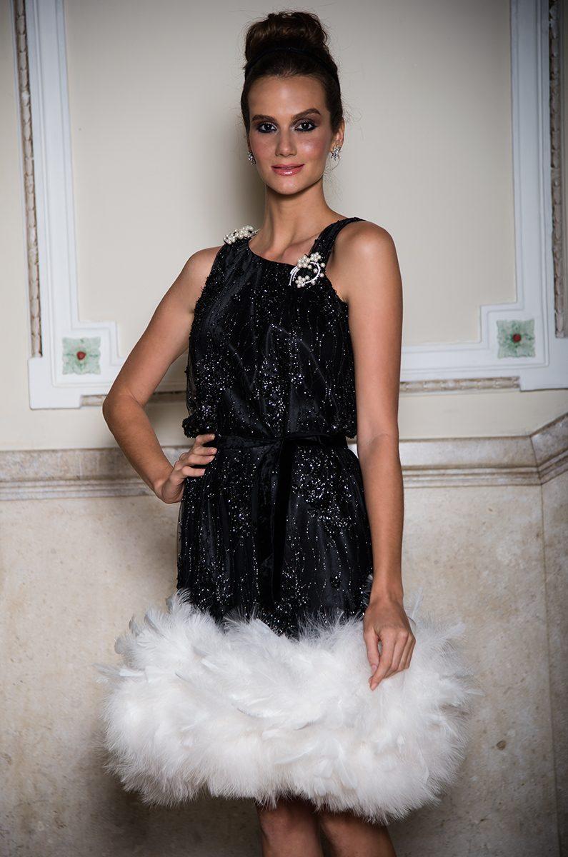 Vestido Cisne Negro