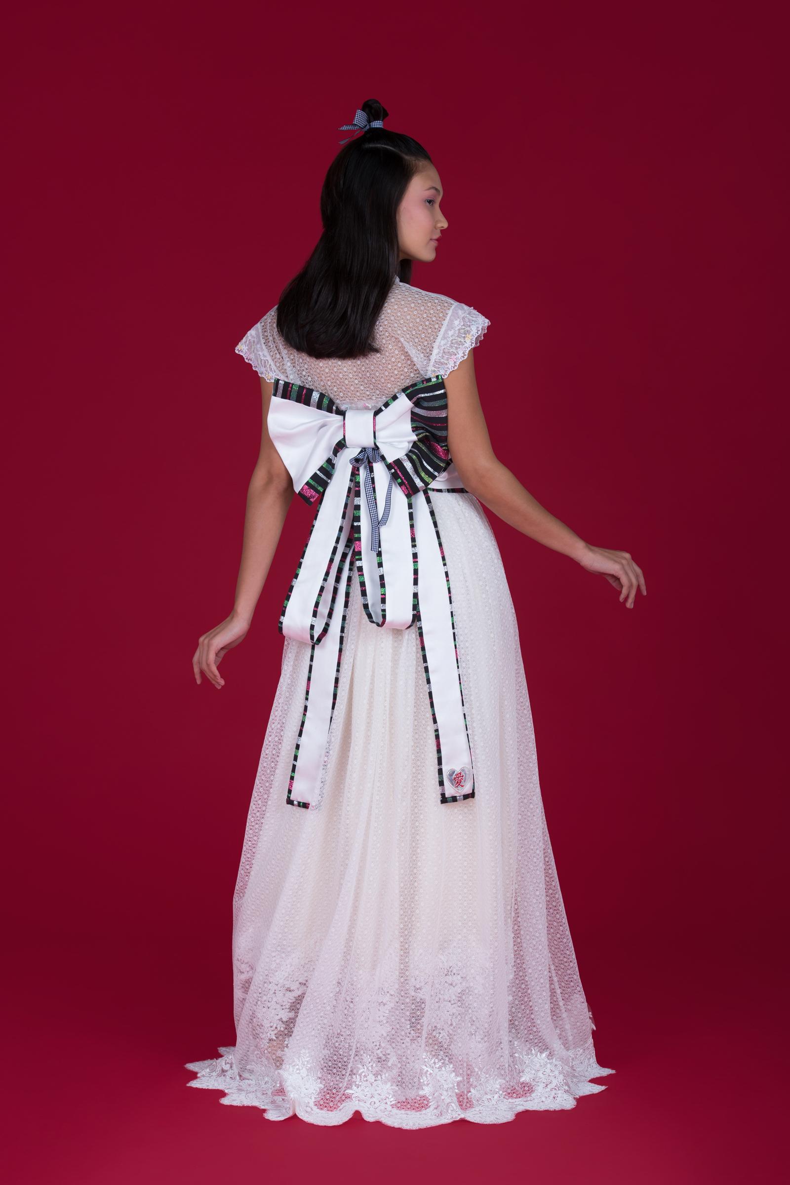 Vestido e Mini Kimono Suzuka