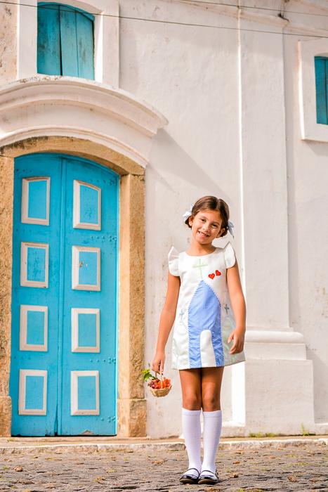 Vestido Capelinha